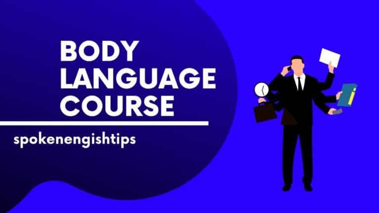 body language course free