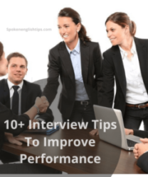 10+ Interview Tips To Improve Performance
