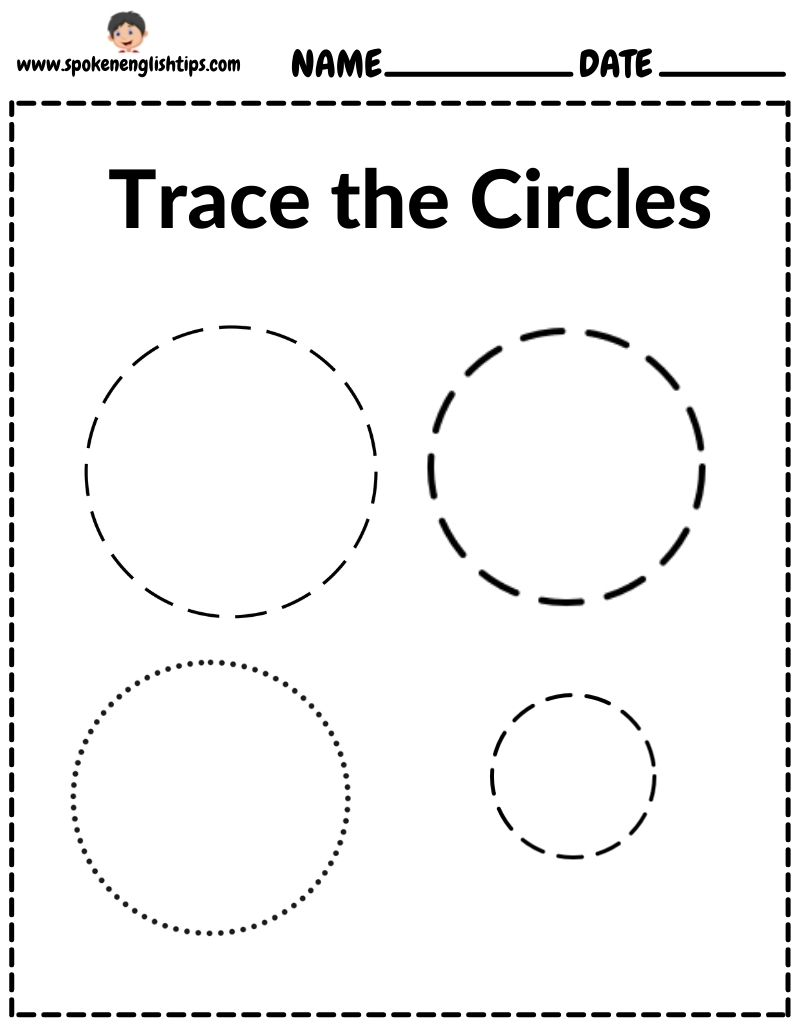 Circle Worksheets For Preschool