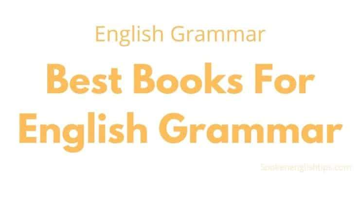 best books for englsh grammar